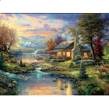 Thomas Kinkade: Special Edition - Nature's Paradise - 500-999 Pieces