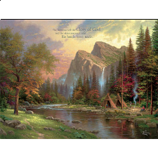 Thomas Kinkade: Inspirations - The Mountains Declare His Glory - Designers