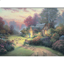 Thomas Kinkade: Inspirations - The Good Shepherd's Cottage - Designers