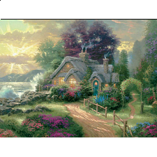 Thomas Kinkade - A New Day Dawning - Designers