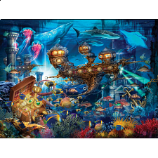 Ciro Marchetti: Magical World - Atlantis Express - 500-999 Pieces