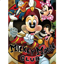 Mickey Mania - Leader of the Club - 500-999 Pieces