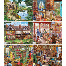 Steve Crisp - 6 in 1 Jigsaw Puzzle Collection - 1000 Pieces