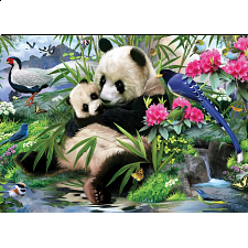 Animal Planet - Panda Sanctuary Puzzle - Large Piece - Search Results