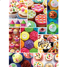 Sweet Shoppe - Cupcake Craze - 500-999 Pieces