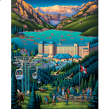 Lake Louise - 500-999 Pieces