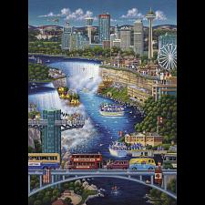 Niagara Falls - 1000 Piece - 1000 Pieces