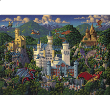 Imaginary Dragons - 500 Piece -