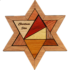 Christmas Star - European Wood Puzzles