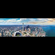 Toronto, Canada: Panoramic Puzzle -