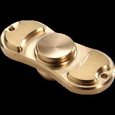 Metal Torqbar Spinner Anti-Stress Fidget Toy - Gold -