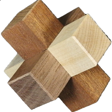 Slideways - Cubic Dissection - Other Wood Puzzles