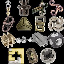 .Level 7 - a set of 15 Hanayama puzzles -
