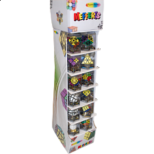 24 Pieces - Rotational Puzzles + Display Stand -