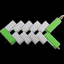 Mini Line Cube - Green -