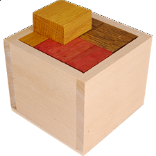 Gala Cube - Other Wood Puzzles