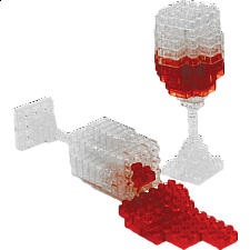 3D Pixel Puzzle - Wine - Search Results
