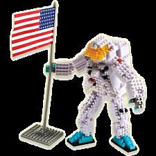 3D Pixel Puzzle - Astronaut -