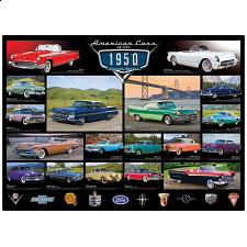 American Cars of the 1950's - New Items