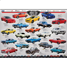 American Muscle Car Evolution - New Items