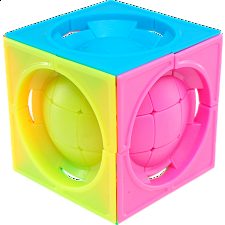 limCube Deformed 3x3x3 Centro-Sphere Cube - Stickerless - Rubik's Cube & Others