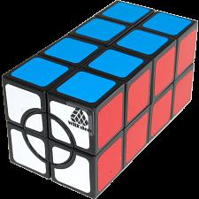 Super 2x2x4 Cuboid Cube - Black Body -