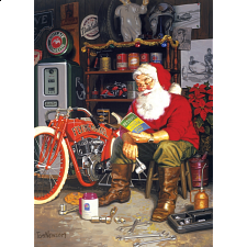Santa's Flying Merkel - New Items