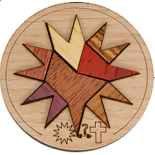 Minipuzzle - Holy Star - European Wood Puzzles
