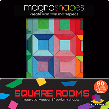 Magna Shapes - Square Rooms - Blocks
