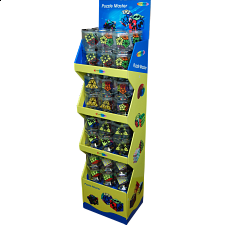 Rotational Puzzles Display Stand (Holds 48 Pieces) -