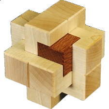 Clamped Cube - Other Wood Puzzles