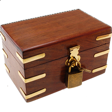 Pick Lock Box - Puzzle Boxes / Trick Boxes
