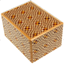 2.7 Sun 12 Step Kawari-Ichimatsu - Puzzle Boxes