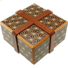 Hermit Crab Box - Kuroasa W - Other Japanese Puzzle Boxes
