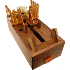 Card Case - Goat - Japanese Puzzle Boxes