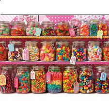 Candy Counter - Family Pieces Puzzle - 101-499 Pieces