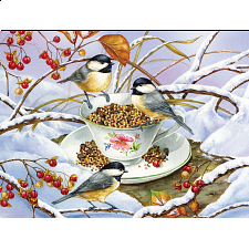 Chickadee Tea - Large Piece - 101-499 Pieces