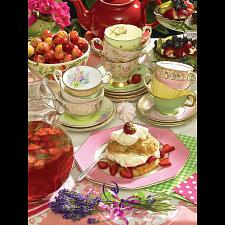 Strawberry Tea - Jigsaws