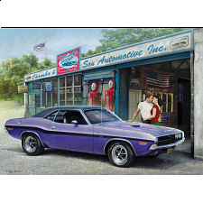 American Classics: Plum Crazy Challenger - 1000 Pieces