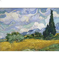 Vincent Van Gogh - Wheat Field With Cypresses -