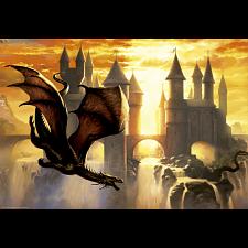 Sunset Dragon - 1000 Pieces