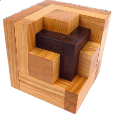 Recede - Wood Puzzles