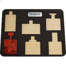 Sixpack - European Wood Puzzles