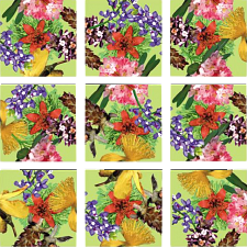 Scramble Squares - American Native Flowers -