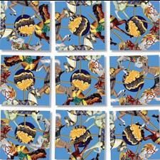 Scramble Squares - Carousel Ponies -