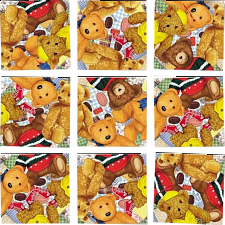 Scramble Squares - Teddy Bears - More Puzzles