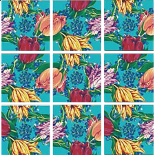 Scramble Squares - Tulips -