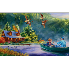 Weekend Escape - Large Piece Format - Large Piece Jigsaws