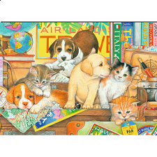 Pets on Tour - Large Piece Format - Jigsaws