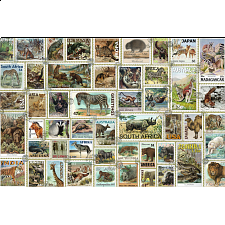 Animal Stamps - 1001 - 5000 Pieces